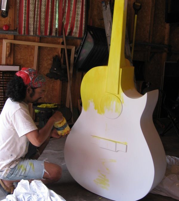 Starting the Guitar
